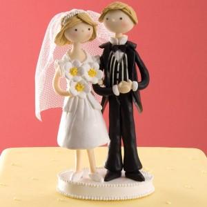 taarttopper-bruidspaar-klei