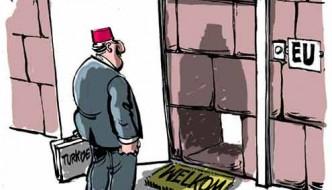 Deze cartoon zegt veel over de onderhandelingen tussen Turkije en de EU...
