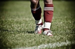 voetbal-gras-schoenen