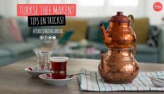 Turkse thee maken