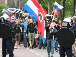 Rellen tijdens demonstratie Constant Kusters